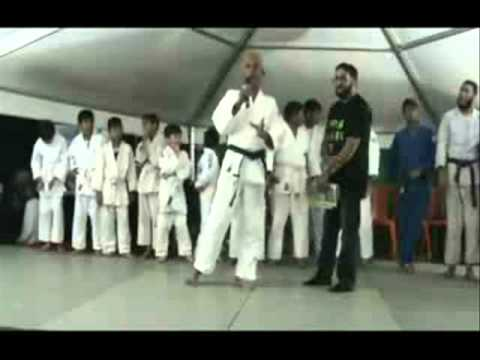 Plaine Verte Judo Club Meezam Hummuth Speech FSM EID Celebration