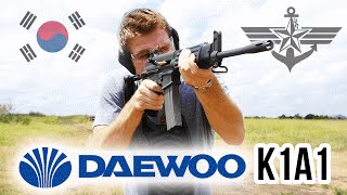 Daewoo K1A1: Korea's AR15 Rifle Range Review