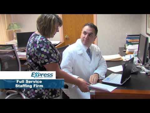 "Express Employment Professionals ""Medical Staffing"""