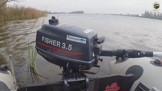 Fisher 3.5л/с....выводы после трудового сезона...bogomaz05