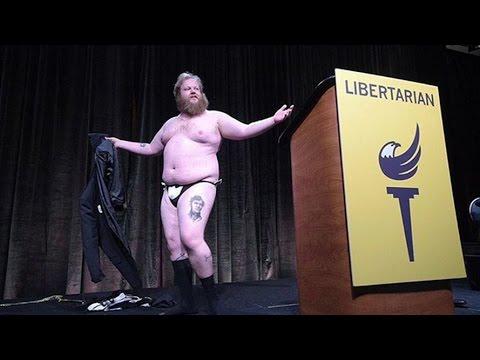Stripping Libertarian James Weeks