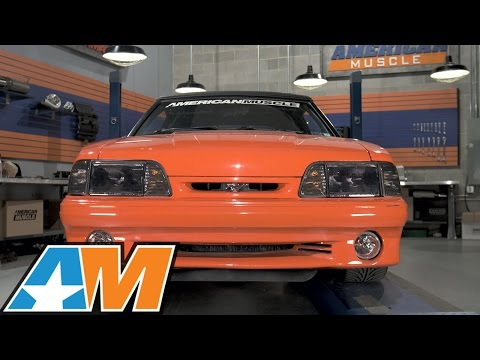 1987-1993 Mustang Smoked Headlights Review & Install