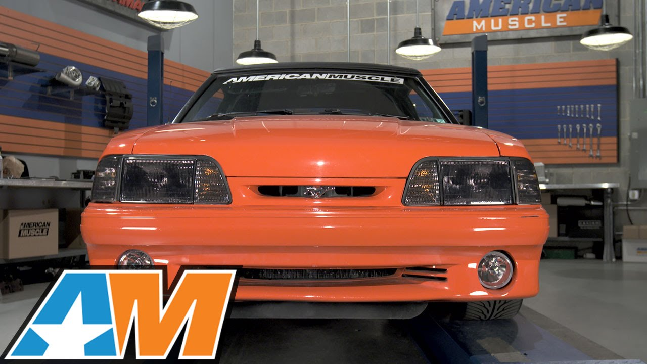 1987 1993 Mustang Smoked Headlights Review Install Youtube