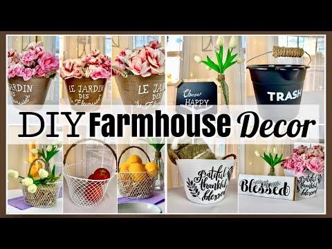 Dollar Tree DIYS ~ FARMHOUSE DECOR ~ Ideas