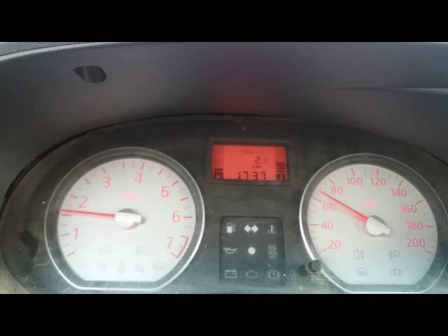 Test consum in frana de motor