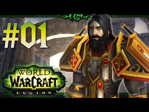 World of Warcraft: *Perparing For Legion* Gameplay | Level 1-110 | Paladin | Episode 1