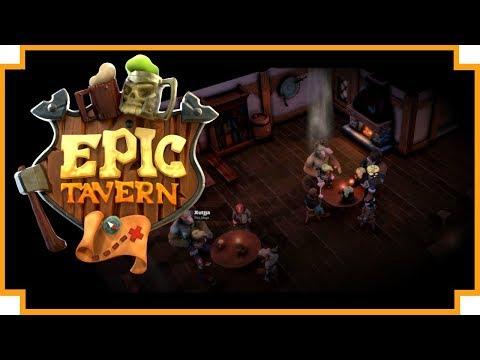 Epic Tavern - (Fantasy Tavern Management / RPG Adventure Game)