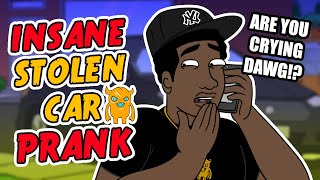 Insane Stolen Car Prank (UK 3M Special) - Ownage Pranks
