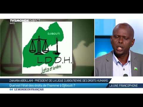 La Une Francophone : Djibouti, état des lieux des droits de l'Homme