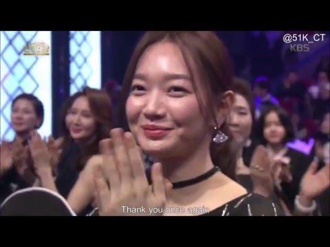[Eng Sub] 2015 KBS Drama Awards - Sojisub & ShinMina Cut