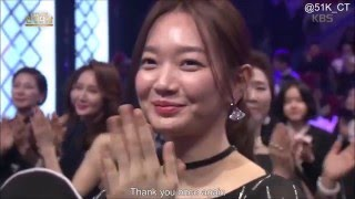 [Eng Sub] 2015 KBS Drama Awards - Sojisub & ShinMina Cut