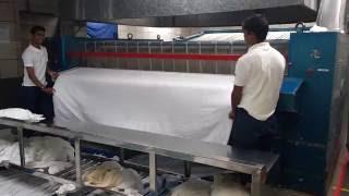 how hotel laundry do process
