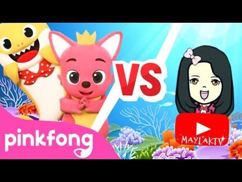 baby-shark-dance-battle- -pinkfong-baby-shark-challenge-with-maylaktv-#babysharkdancebattlechallenge