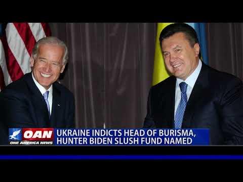 Ukrainian MP says Burisma head to be indicted, Hunter Biden slush fund named
