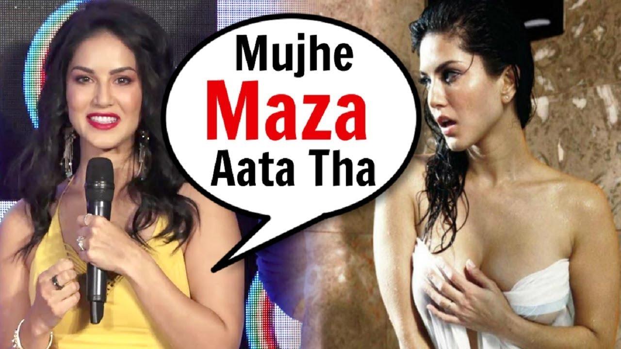 Sunny Leone SHOCKING Reaction On Having A BOLD Career Before Bollywood - YouTube