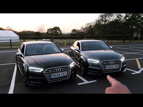 2017 Audi S3 - TUNED VS STOCK Comparison! (JB4/Res Delete)
