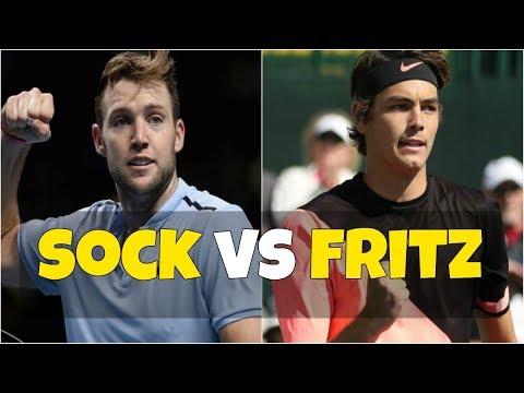 Jack Sock vs Taylor Fritz | QF Houston 2018 Highlights HD