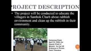 Planning & Working For Change In Cambodia Rey Ty