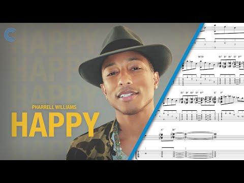 Bass - Happy - Pharrell - Sheet Music, Chords, & Vocals