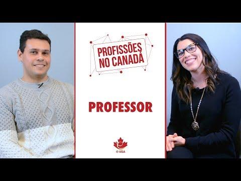 PROFISSÕES NO CANADÁ: PROFESSOR