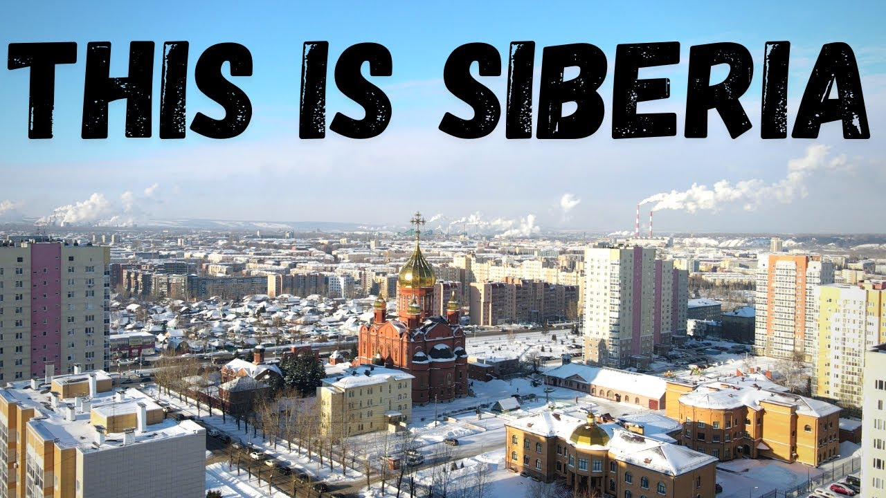 What is SIBERIA like ? | Life in Kemerovo, the coal mining capital of Russia