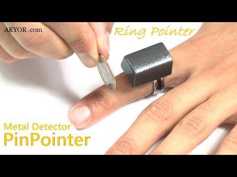 Metal Detector PinPointer Ring (RinPointer)