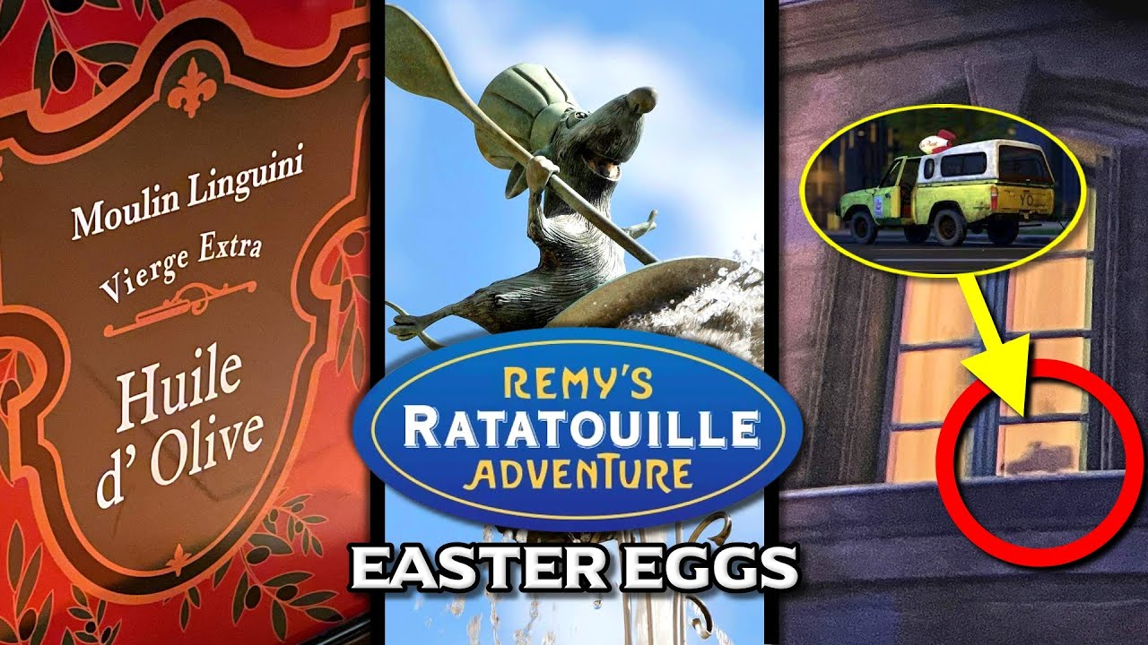 10 Easter Eggs at Remy's Ratatouille Adventure in EPCOT