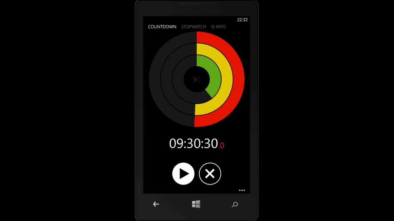 STOP N' GO - timer and stopwatch app for windows phone 8