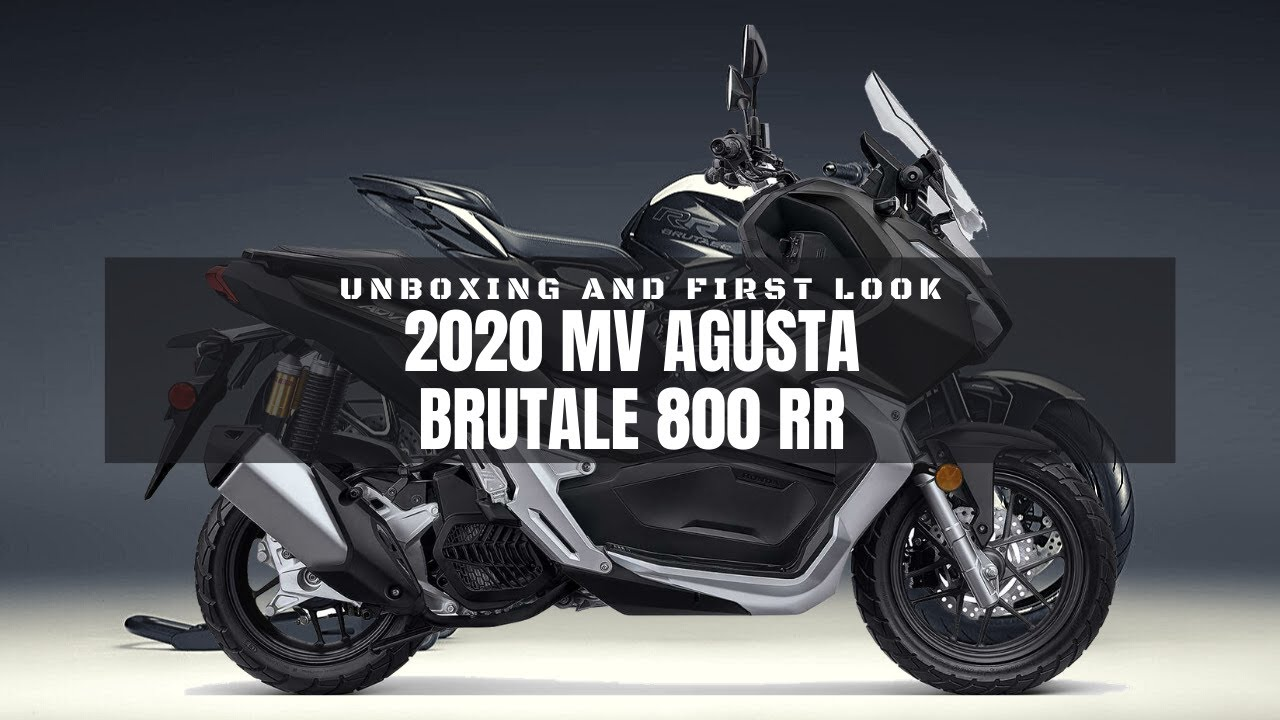 2020 MV Agusta Brutale 800 RR | Unboxing and First Look