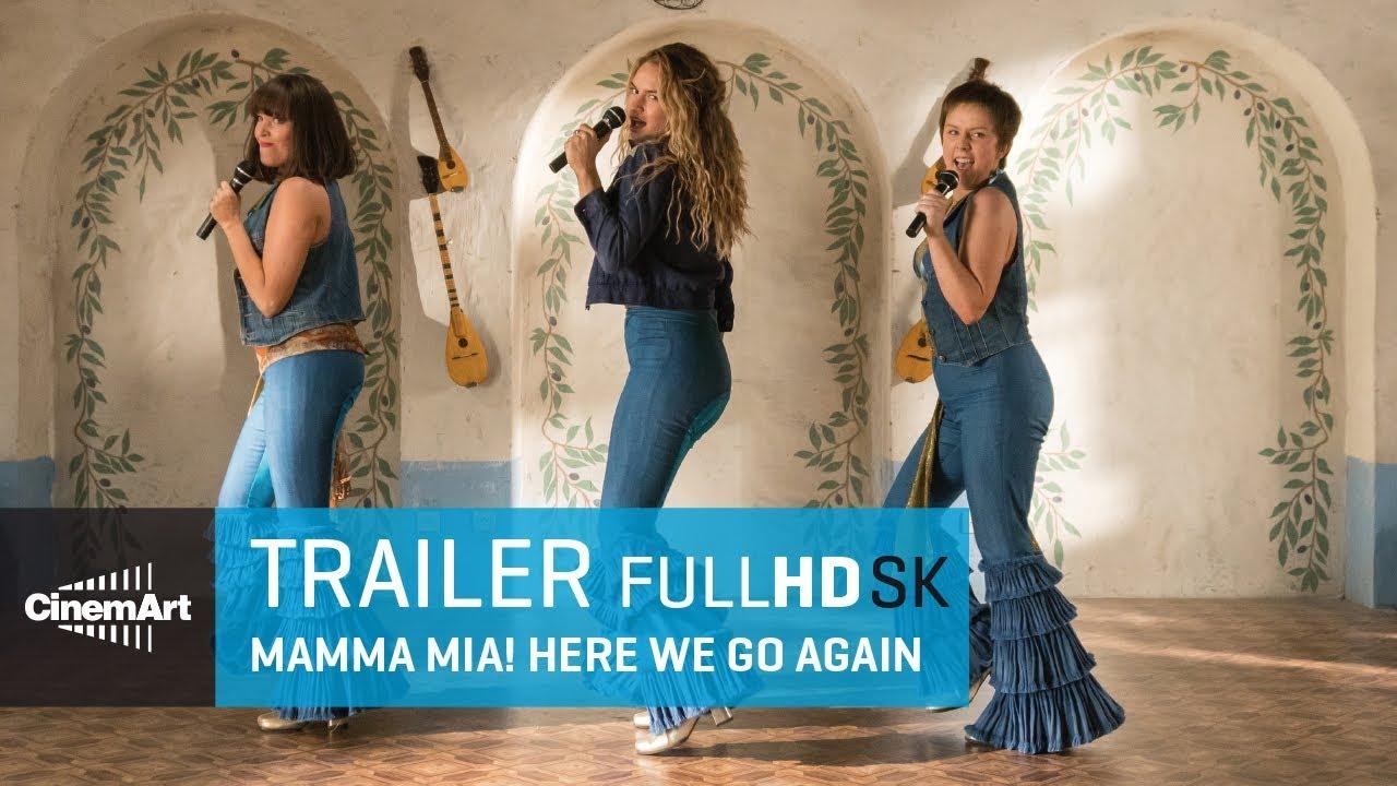Mamma Mia! Here We Go Again (2018) oficiálny HD trailer #1 [SK]