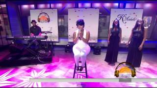"""K.Michelle Performs """"How Do You Know?"""""""