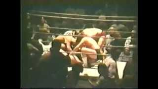 70s Wrestling Rodriguez/Johnny & Ricky Fields vs Scorpion/Myers/Kent Memphis