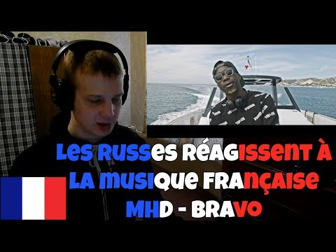 RUSSIANS REACT TO FRENCH MUSIC | MHD - Bravo | REACTION TO FRENCH RAP