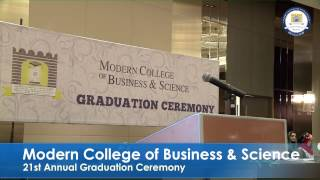 Modern College of Business & Science Live Stream