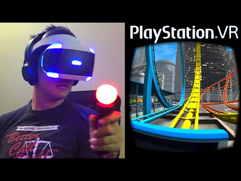 Playstation VR - Hands On + Gameplay! (PlayStation VR)