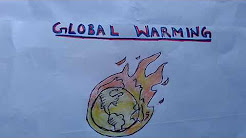 "Write a paragraph on ""Global Warming"" in easy words."