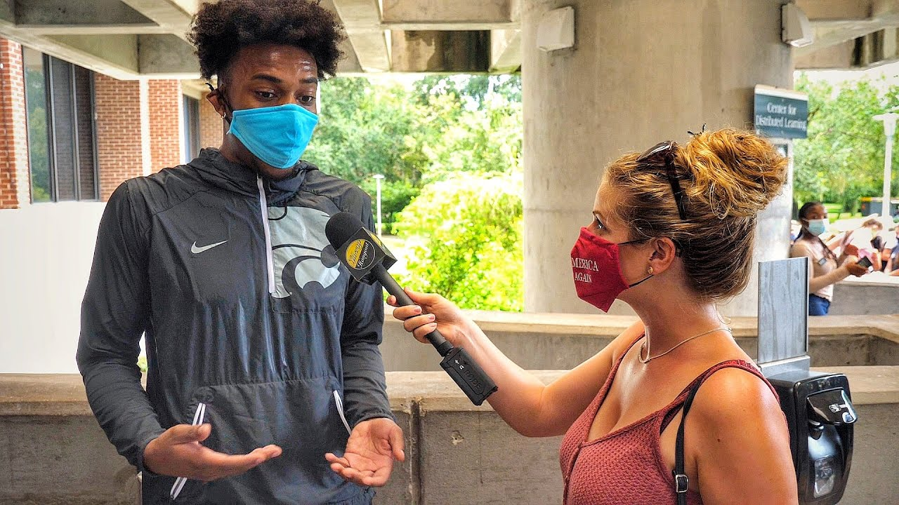 Black Student Stands Against the Liberal Mob