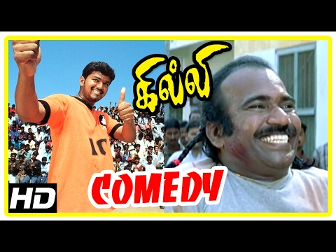 Gilli | Gilli Tamil full Movie Comedy Scenes | Gilli Comedy