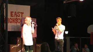 Joey Kugelmann, High school Musical, duet, Mallorca, Alcudia Pin 2009 08 01 14 47 07