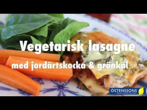 vegetarisk lasagne grönkål