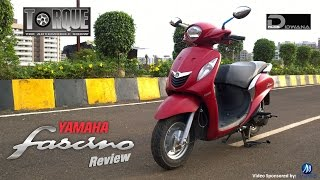 Yamaha Fascino Review & First Impression | Torque - The Automobile Show