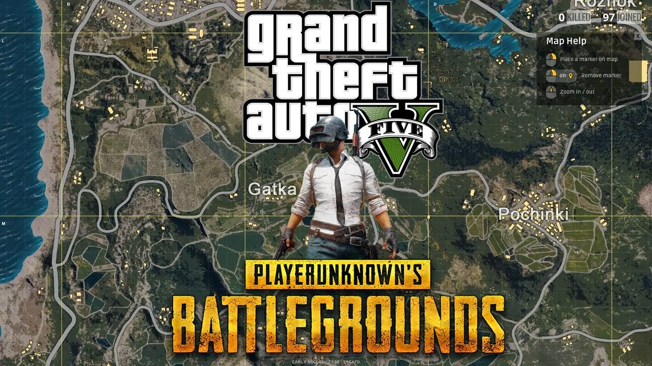 PLAYERUNKNOWN'S BATTLEGROUNDS + GTA V
