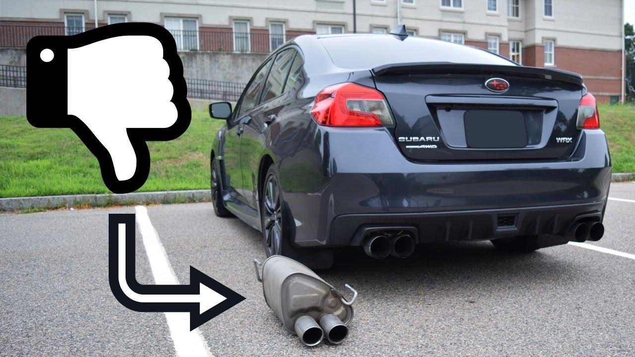 why every subaru wrx needs an exhaust upgrade wrx vlog 38