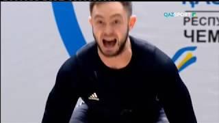 """В гостях у """"QAZSPORT"""". Алдияр Нуралинов и Димаш Султанов"""