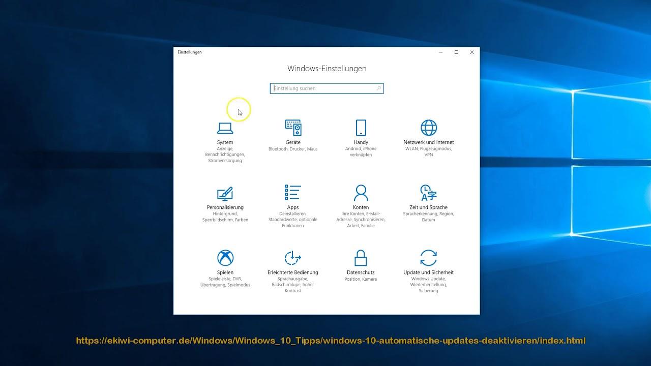 Windows 10 Deaktivieren
