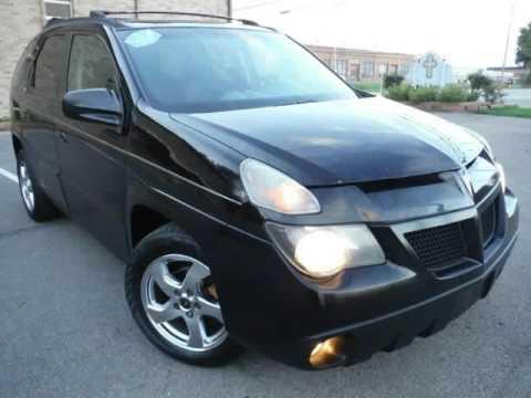 2005 Pontiac Aztek Rally Black On Black Clean Carfax Akron Ohio