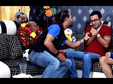 गायक सत्यराज आचार्य द्वारा कमेडी होस्टेलका कलाकार माथी कमेडी आक्रमण COMEDY HOSTEL   Satyaraj Acharya
