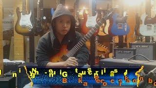 Minh Nguyen - Tình yêu chết guitar solo tutorial
