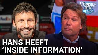 Hans stellig: 'Van Bommel wordt niet ontslagen bij verlies tegen Feyenoord'   VERONICA INSIDE