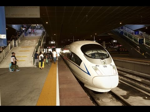 Taking the High-speed train from Shenzhen to Guangzhou